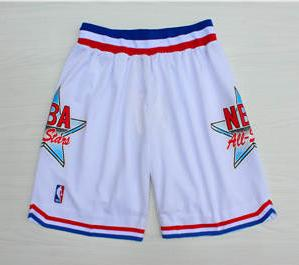 1992 Basketball All-Star White Hardwood Classics Shorts