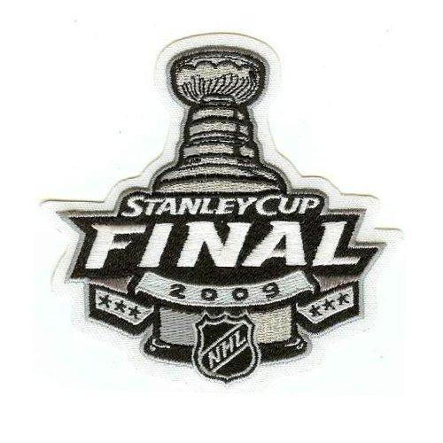 2009 Hockey Stanley Cup Final Patch Pittsburgh Penguins vs Detroit Red Wings