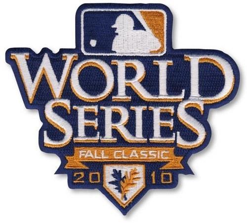 2010 Baseball World Series Patch San Francisco Giants vs Texas Rangers