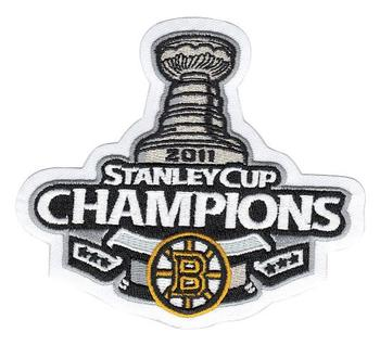 2011 Hockey Stanley Cup Final Champions Boston Bruins Patch
