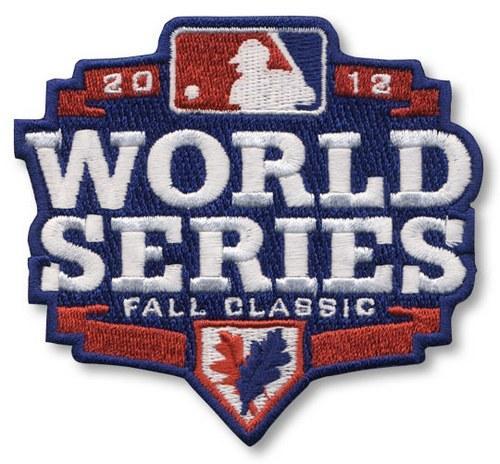 2012 Baseball World Series Logo Fall Classic Detroit Tigers vs San Francisco Giants patch