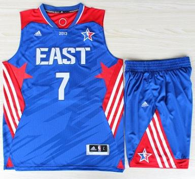 2013 All-Star Eastern Conference New York Knicks 7 Carmelo Anthony Blue Revolution 30 Swingman Basketball Suits