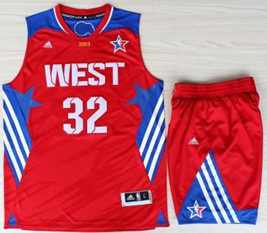 2013 All-Star Western Conference Los Angeles Clippers 32 Blake Griffin Red Revolution 30 Swingman Basketball Suits