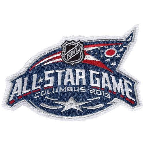 2013 Hockey All-star Game Patch Columbus Blue Jackets
