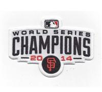 2014 San Francisco Giants Baseball World Series Champions Logo Jersey