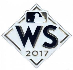 2017 Baseball World Series Emboss Tech Patch
