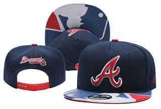 2019 Atlanta Braves Stitched Hat Cap Adjustable Snapback YD6