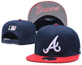 2019 Atlanta Braves Team Logo Stitched Adjustable Snapback Hat GS