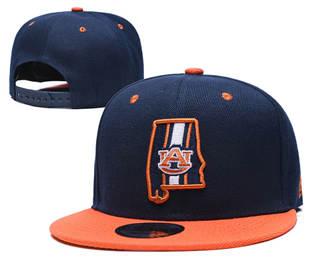 2019 Auburn Tigers Team Logo Stitched Hat Adjustable Snapback GS 6