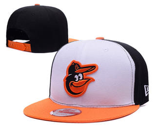 2019 Baltimore Orioles Adjustable Hat Stitched Baseball Snapback LH5