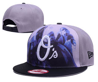 2019 Baltimore Orioles Team Logo Stitched Adjustable Snapback Hat GS2