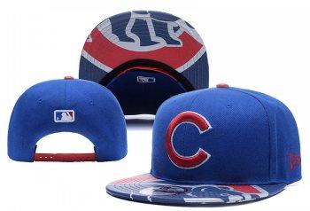 2019 Chicago Cubs Team Logo Adjustable Snapback - Blue YD