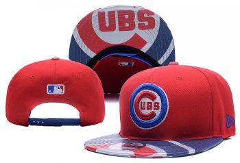 2019 Chicago Cubs Team Logo Adjustable Snapback - Red YD