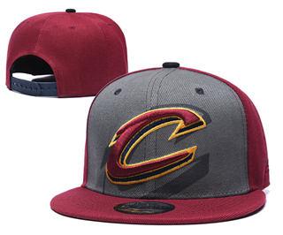 2019 Cleveland Cavaliers Team Logo Stitched Hat Adjustable Snapback GS