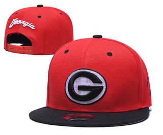2019 Georgia Bulldogs Team Logo Stitched Hat Adjustable Snapback GS 2