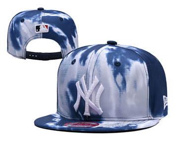 2019 New York Yankees Team Logo Adjustable Snapback Stitched Hat YD 1