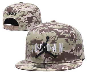 2020 Air Jordan Logo Camo Stitched Snapback Adjustable Hat GS 1