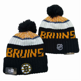 2020 Boston Bruins Team Logo Stitched Hockey Sports Beanie Hat YD