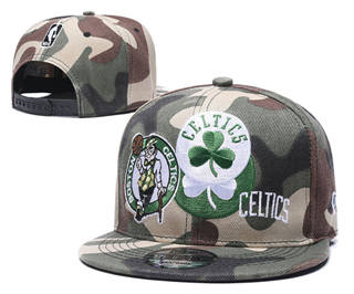 2020 Boston Celtics Team Logo Stitched Basketball Snapback Adjustable Hat LH