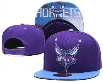 2020 Charlotte Hornets Team Logo Stitched Basketball Snapback Adjustable Hat LH 1