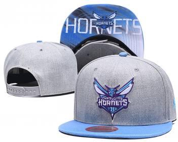 2020 Charlotte Hornets Team Logo Stitched Basketball Snapback Adjustable Hat LH 2