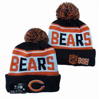2020 Chicago Bears Team Logo Stitched Knit Hat Sports Beanie Hat YD
