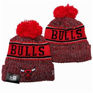 2020 Chicago Bulls Team Logo Stitched Basketball Sports Beanie Hat YD 2