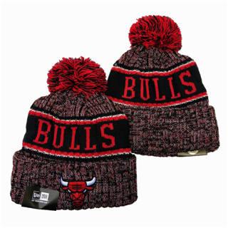 2020 Chicago Bulls Team Logo Stitched Basketball Sports Beanie Hat YD 3