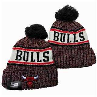 2020 Chicago Bulls Team Logo Stitched Basketball Sports Beanie Hat YD 4