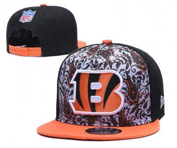 2020 Cincinnati Bengals Team Logo Fashion Stitched Hat Adjustable Snapback LH