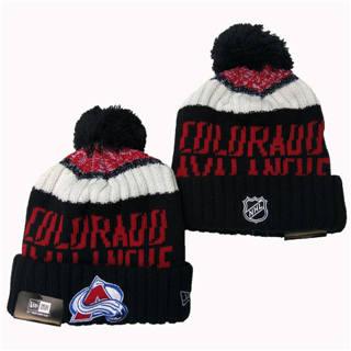 2020 Colorado Avalanche Team Logo Stitched Hockey Sports Beanie Hat YD