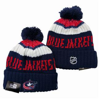 2020 Columbus Blue Jackets Team Logo Stitched Hockey Sports Beanie Hat YD