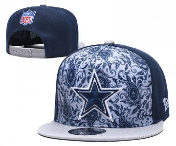 2020 Dallas Cowboys Team Logo Fashion Stitched Hat Adjustable Snapback LH
