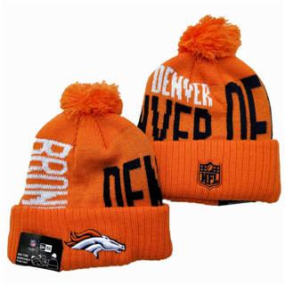 2020 Denver Broncos Team Logo Stitched Knit Hat Sports Beanie Hat YD