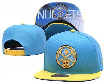 2020 Denver Nuggets Team Logo Stitched Basketball Snapback Adjustable Hat LH