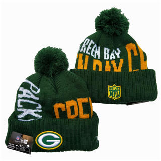 2020 Green Bay Packers Team Logo Stitched Knit Hat Sports Beanie Hat YD 1