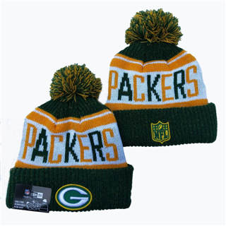 2020 Green Bay Packers Team Logo Stitched Knit Hat Sports Beanie Hat YD 2