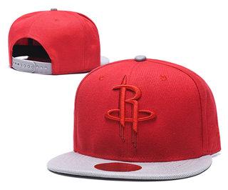 2020 Houston Rockets Team Logo Stitched Basketball Snapback Adjustable Hat LH 1