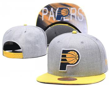 2020 Indiana Pacers Team Logo Stitched Basketball Snapback Adjustable Hat LH