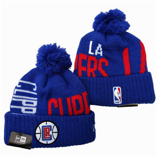 2020 Los Angeles Clippers Team Logo Stitched Basketball Sports Beanie Hat YD