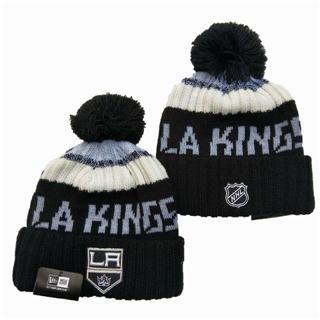 2020 Los Angeles Kings Team Logo Stitched Hockey Sports Beanie Hat YD