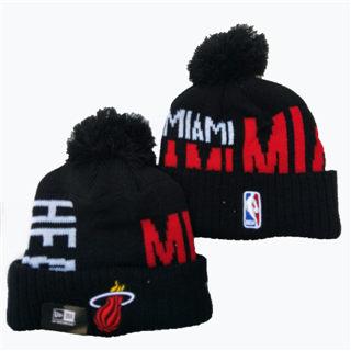 2020 Miami Heat Team Logo Stitched Basketball Sports Beanie Hat YD