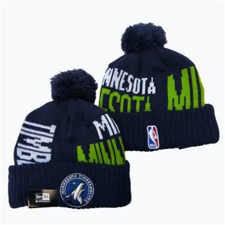 2020 Minnesota Timberwolves Team Logo Stitched Basketball Sports Beanie Hat YD