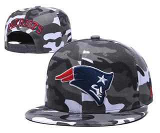 2020 New England Patriots Team Logo Camo Stitched Snapback Adjustable Hat GS 2