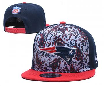 2020 New England Patriots Team Logo Fashion Stitched Hat Adjustable Snapback LH