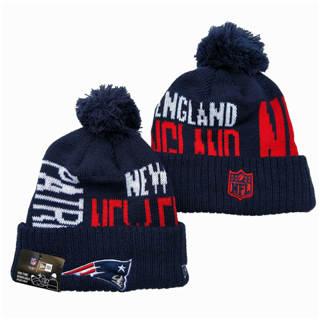 2020 New England Patriots Team Logo Stitched Knit Hat Sports Beanie Hat YD 2