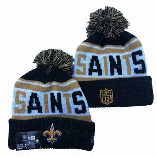 2020 New Orleans Saints Team Logo Stitched Knit Hat Sports Beanie Hat YD