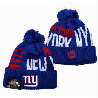 2020 New York Giants Team Logo Stitched Knit Hat Sports Beanie Hat YD 1