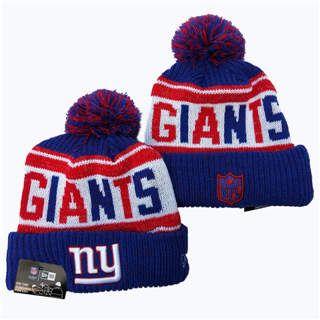 2020 New York Giants Team Logo Stitched Knit Hat Sports Beanie Hat YD 2