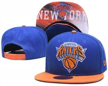 2020 New York Knicks Team Logo Stitched Basketball Snapback Adjustable Hat LH